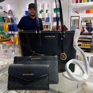 Michael Kors Kimberly 3 in 1 Tote Bag